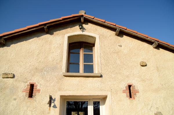 La façade Sud de la Bergerie