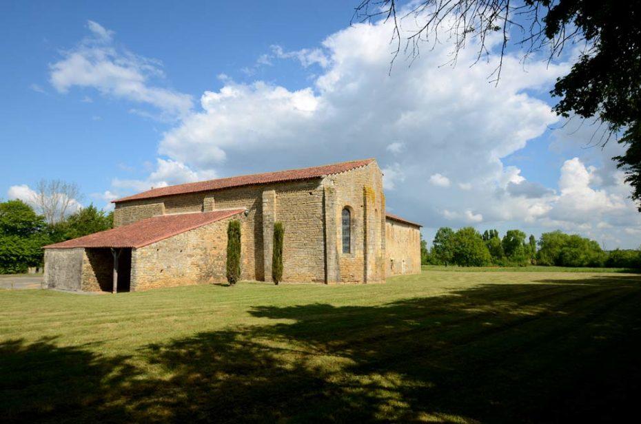 Le prieuré de Grammont, monument d'architecture romane