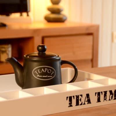 Teapot, l'heure du thé dans le gîte