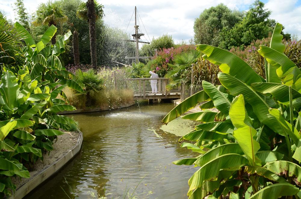 Balade sur l'eau à Terra Botanica