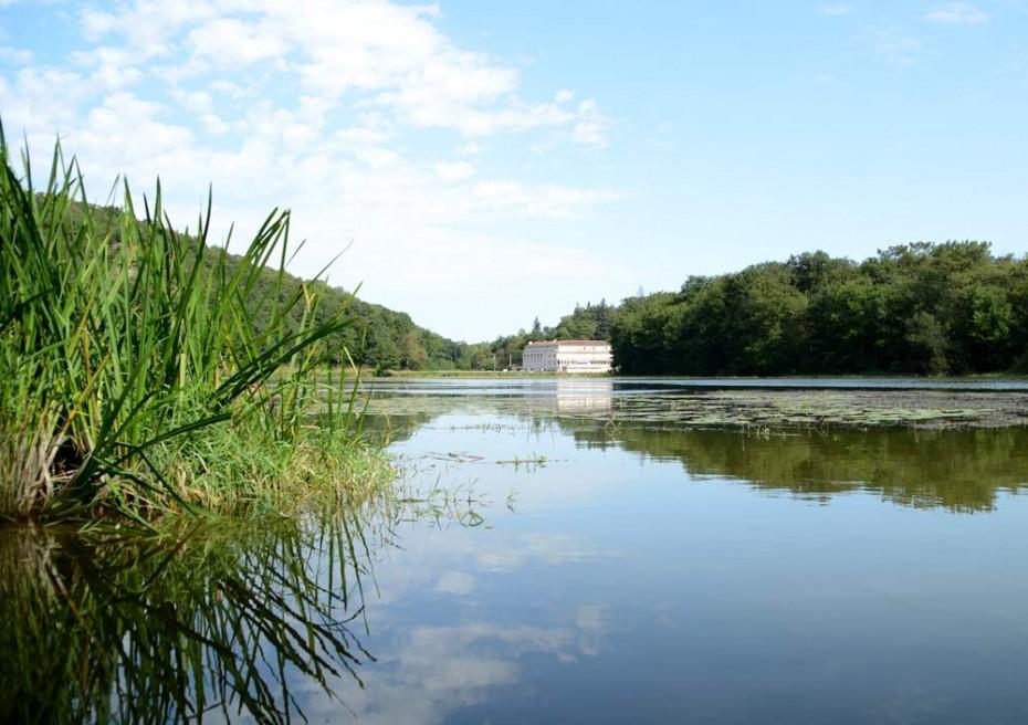 Lac de Touchegray à Moulin Neuf