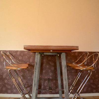 Mange debout style mobilier industriel