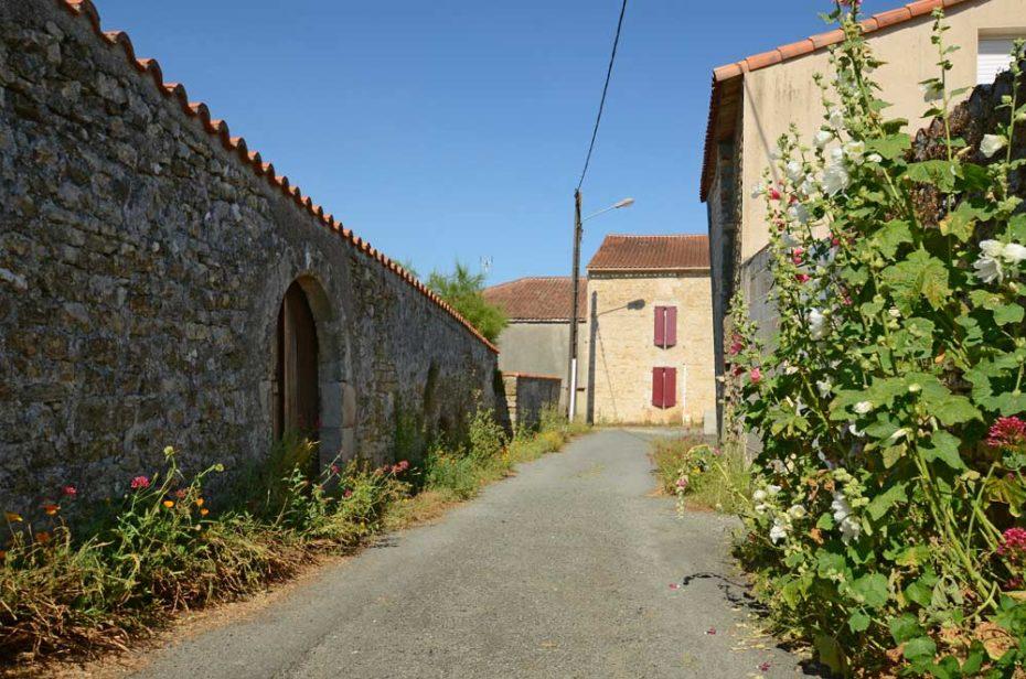 Vieille ruelle de Puybelliard