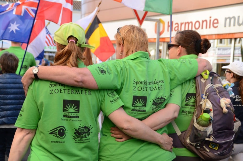 Nos amis randonneurs néerlandais