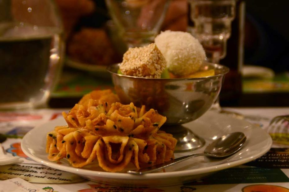 Desserts aux fruits et coco du paramy