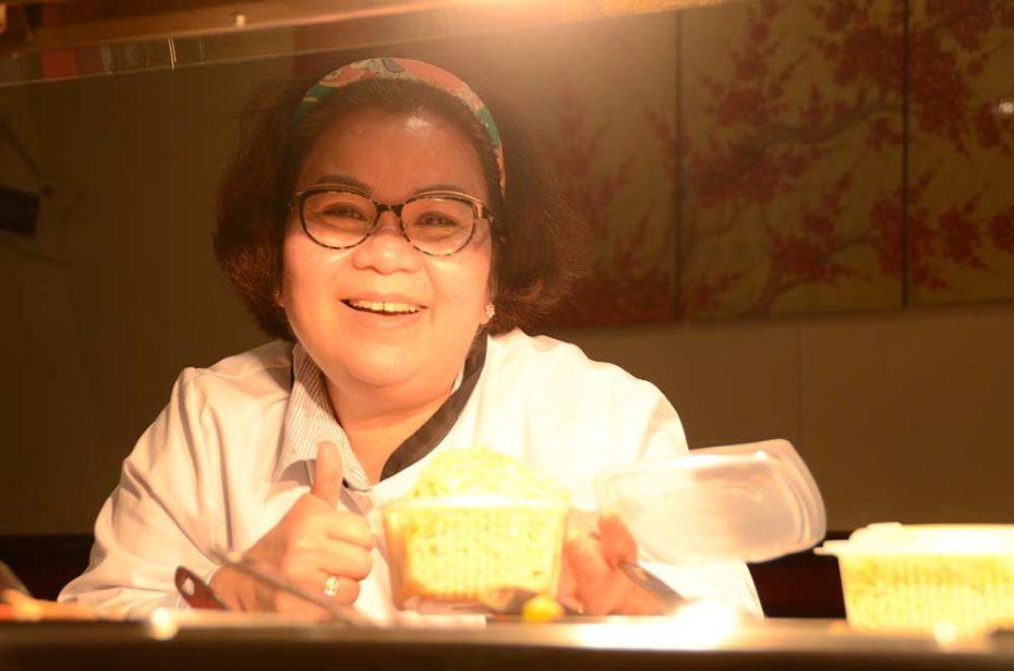 Ting, la souriante patronne du Paramy