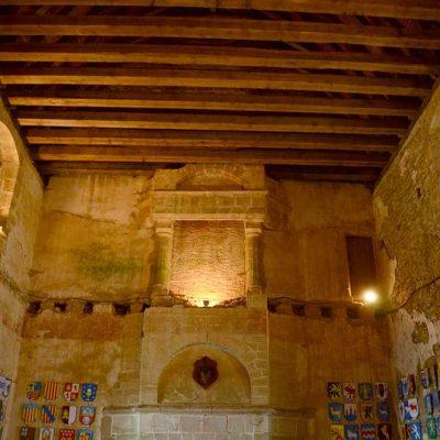 Grande salle de banqet du logis seigneurial