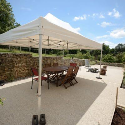 bergerie gîte terrasse jour